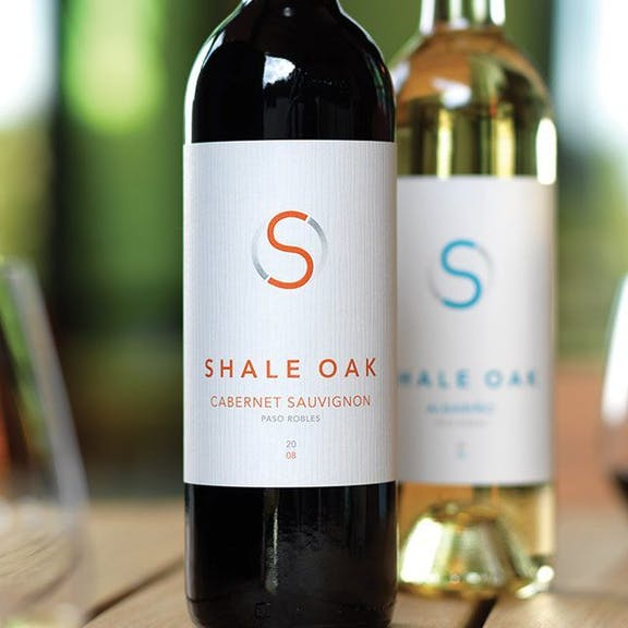 Shale Oak Wine Label Design