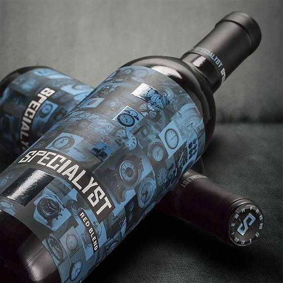 Specialyst Wine Label Design