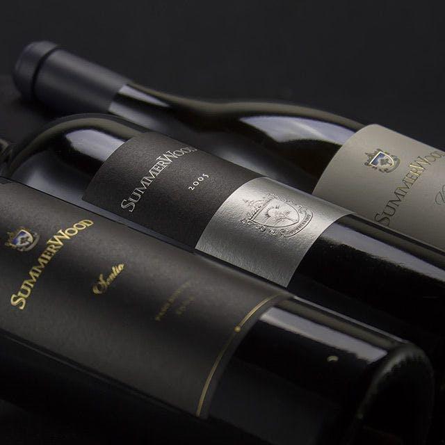 Summerwood Wine Label Design