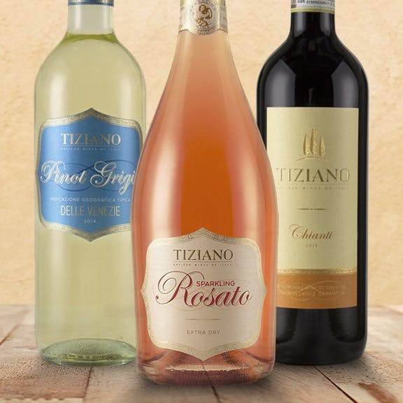 Tiziano Wine Label Design