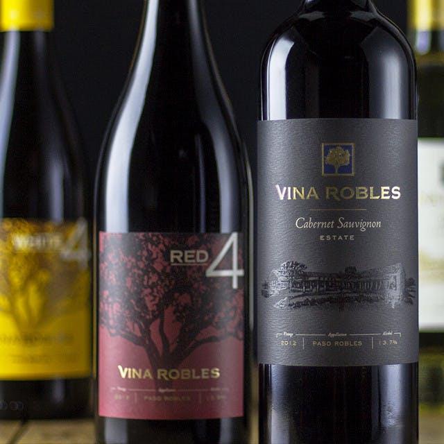 Vina Robles Wine Label Design