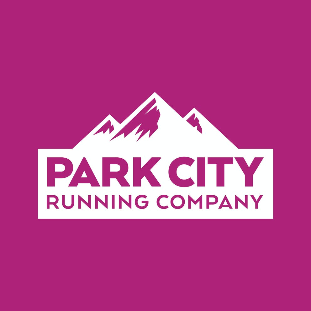 Park City Running Company Logo Brand Design