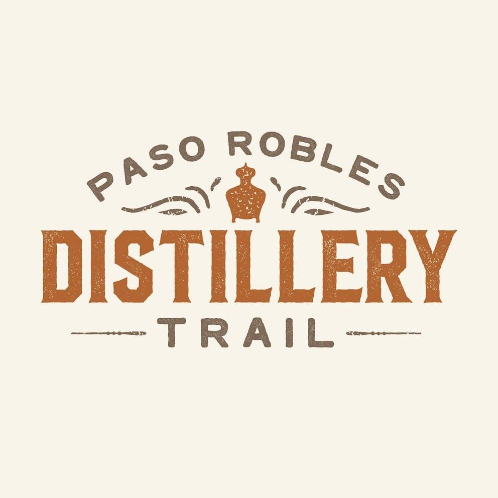Paso Robles Distillery Trail Logo Brand Design