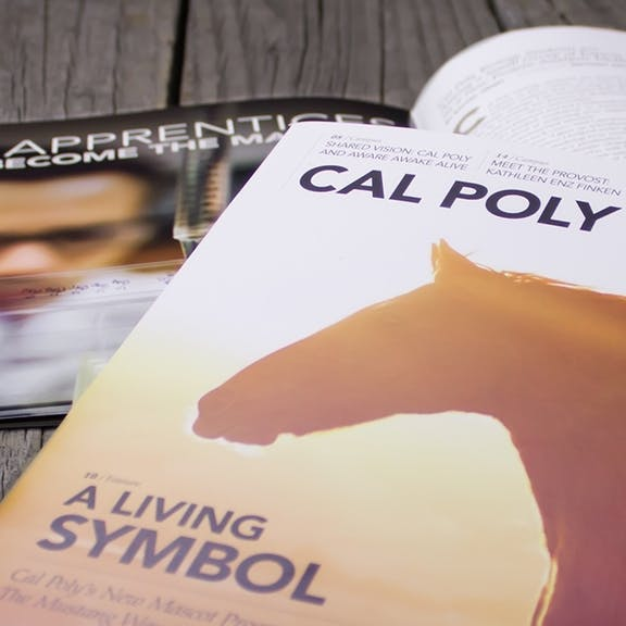 Cal Poly Magazine Print Design