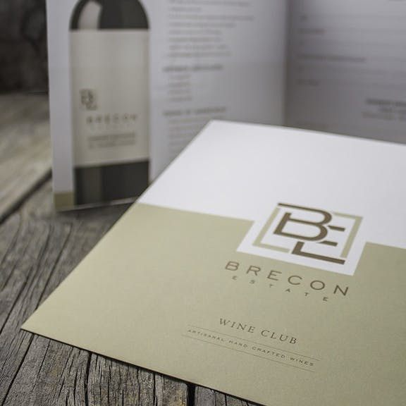 Brecon Estate Print Design