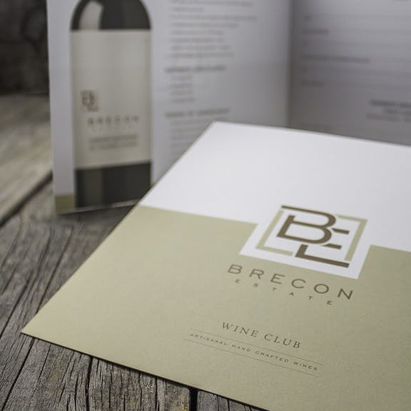 Brecon Estate Print Design
