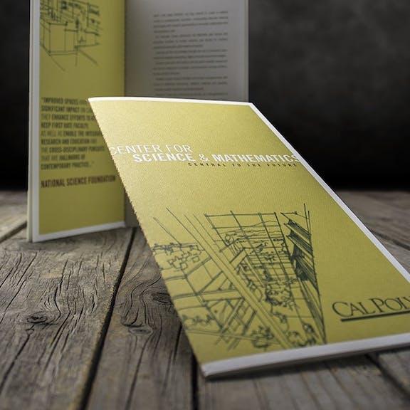 Cal Poly Brochure Print Design