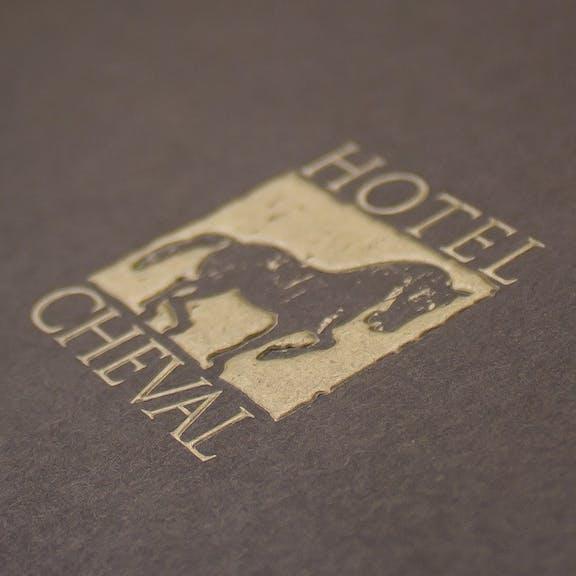 Hotel Cheval Print Design