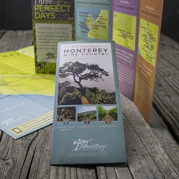 Monterey Wine Country Print Design