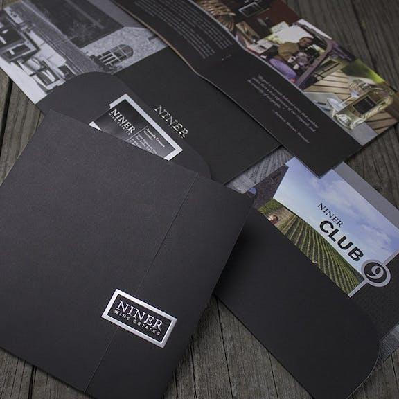 Niner Club 9 Print Design