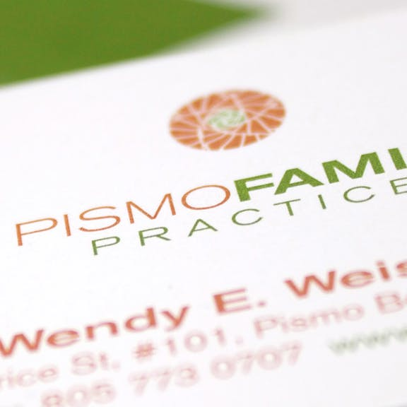 Pismo Family Practice Print Design