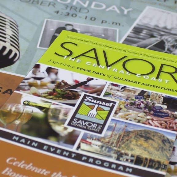 Savor Print Design