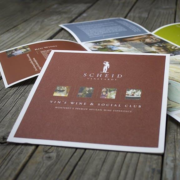 Scheid Brochure Print Design