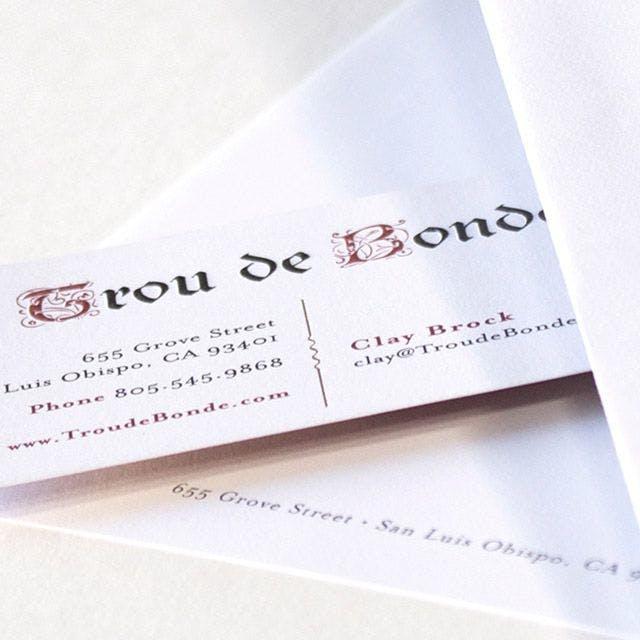 Trou de Donde Print Design