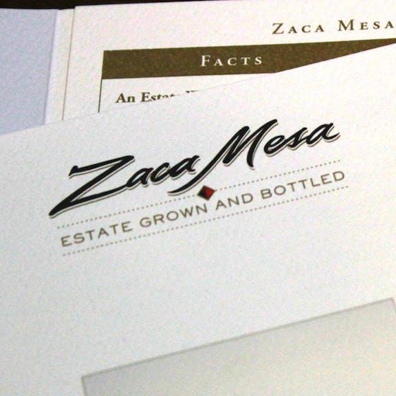 Zaca Mesa Print Design